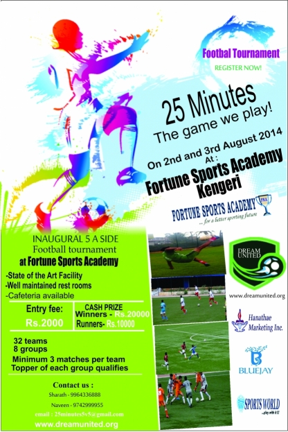 Football Tournaments in Bangalore